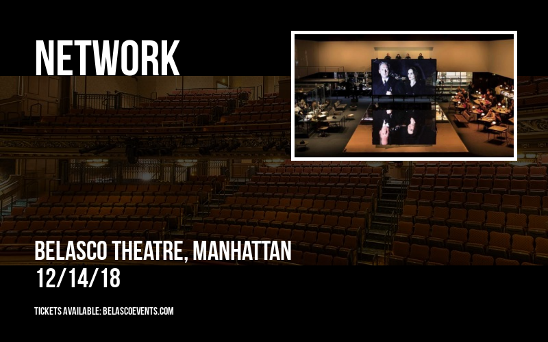 Network at Belasco Theatre